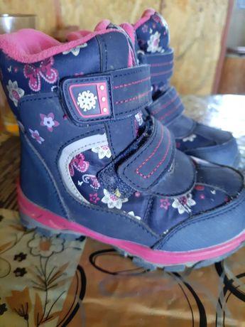 Зимние сапожки для девочек