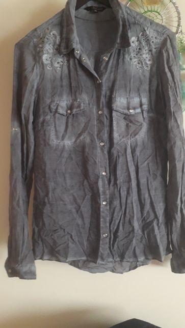Koszula Reserved z haftem na ramionach