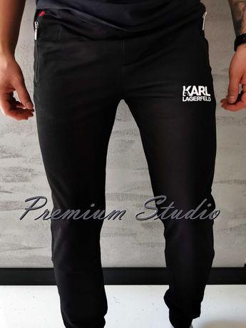 M, L, XL, XXL / Karl Lagerfeld męskie spodnie dresowe czarne