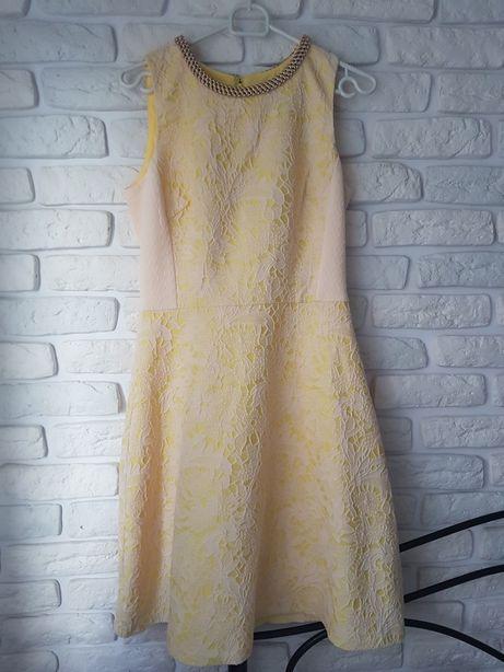 Sukienka koktajlowa Belle Badgley Mischka r. 38