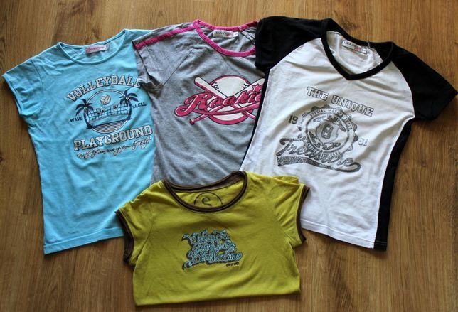 # TERRANOVA CROPP # T-shirt Koszulka 4 szt. Rozm. S