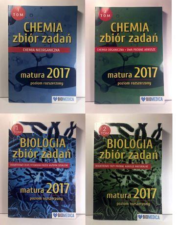 KOMPLET Biomedica tom 1 i 2 BIOLOGIA oraz CHEMIA matura rozszerzony