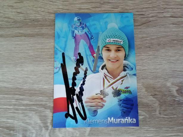 Autograf Klemens Murańka skoki narciarskie