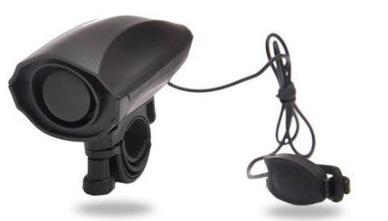 Электронный сигнал/гудок/клаксон/звонок для велосипеда +кнопка! вело
