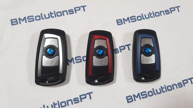 Chave BMW F20 F30 F2x F3x Smartkey completa e programada