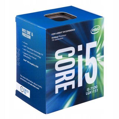 Procesor i5 7500 z płyta główną h110m pro-vh