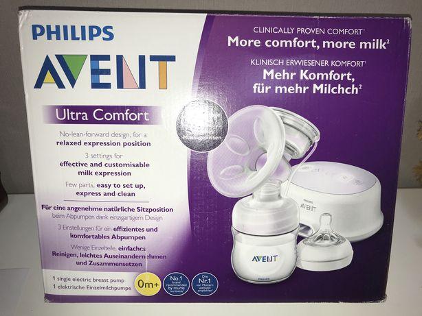 Электронный молокоотсос Avent Comfort