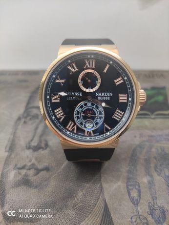 Стильные мужские часы Ulysse Nardin Maxi Marine Chronometer мех.