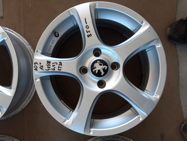 103 Felgi Aluminiowe PEUGEOT R16 4x108