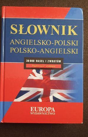 Słownik angielsko-polski, polsko-angielski. 30000 haseł! Nowe wydanie!