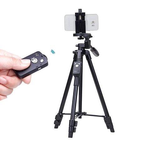 КАЧЕСТВО Штатив Bluetooth для телефона и камеры с пультом тринога
