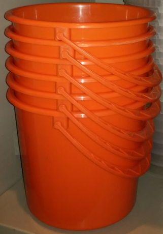 Ведро пластиковое оранжевое 5л.