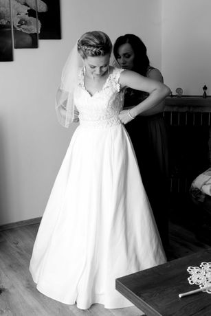Suknia ślubna 2w1