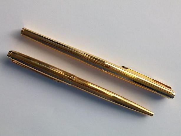 Parker caneta e esferográfica em ouro