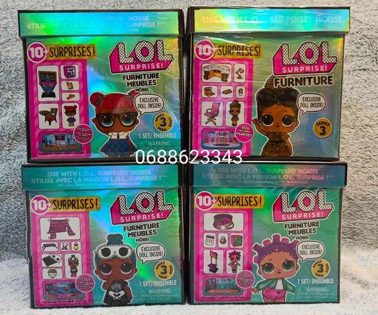 Игровой набор с куклой L.O.L. SURPRISE! - Стильный Интерьер