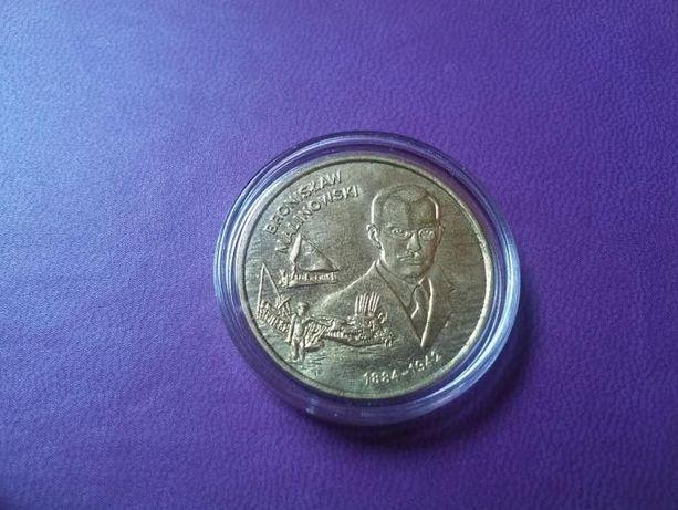2 zł moneta NG Bronisław Malinowski 2002