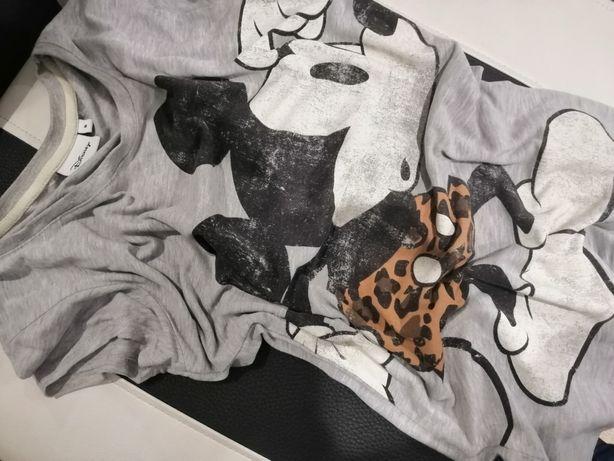 Szary t-shirt Miki Mickey Disney 34 XS