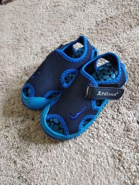 Nowe sandałki 26 zakryte palce