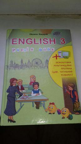 Англійська мова 3 клас Оксана Карпюк