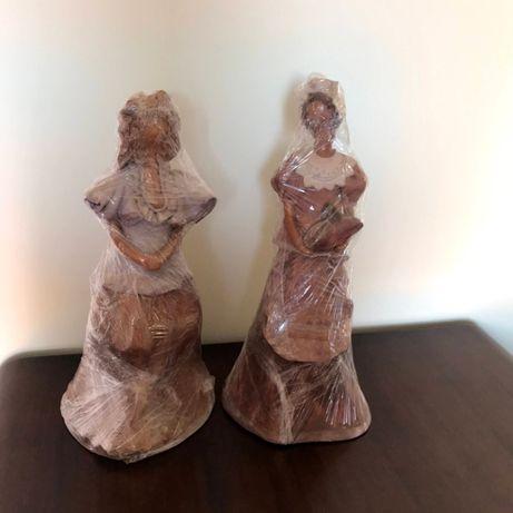 Esculturas em barro