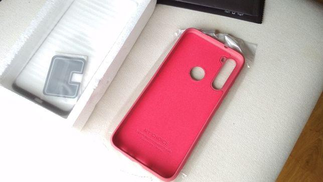 NOVA - Capa ROSA - Xiaomi Redmi Note 8 + Pelicula de Vidro