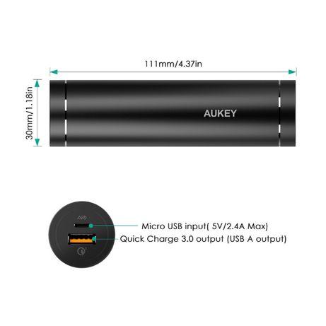 Повербанк с быстрой зарядкой QC3.0 и AiPower и под аккум 26650