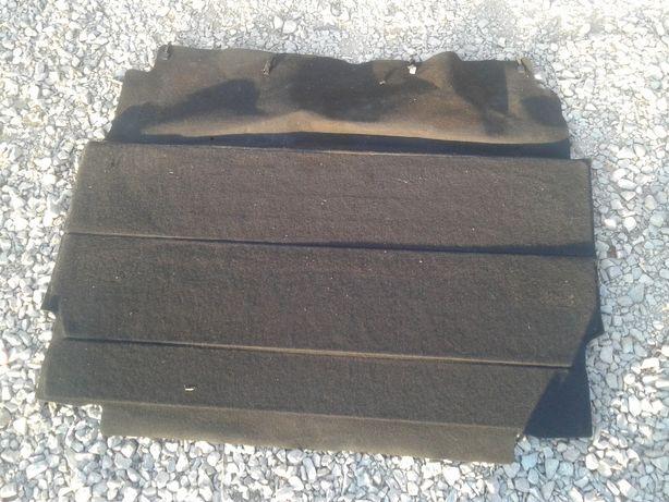 Citroen C3 Półka Tylna Składana Czarna Roleta Bagażnika Zasłona Pokryw