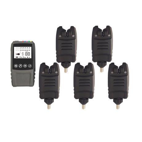 Карповые сигнализаторы поклевки Lixada набор 5+1. Оригинал.