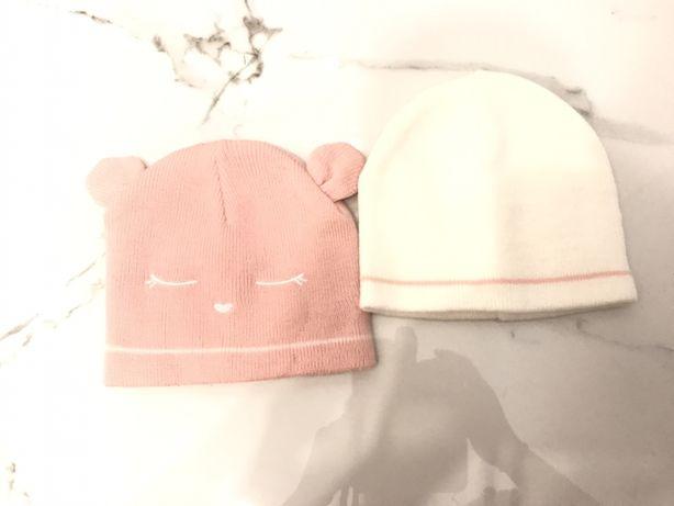 Primark baby 2 czapki 12-24 miesiące 80cm
