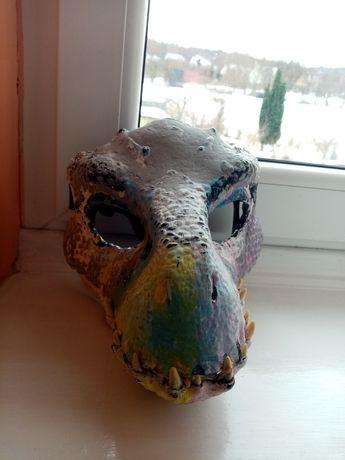 Dino maska fursuit ZAWIESZONE