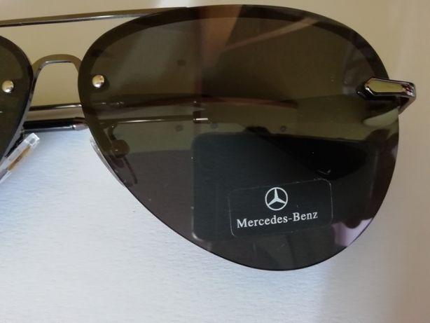 okukary p/słoneczne męskie Mercedes