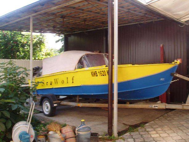 Продам лодку Прогресс-2 с мотором и лафетом