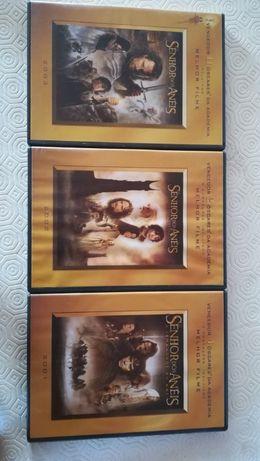 Trilogia Senhor dos Anéis - DVDS