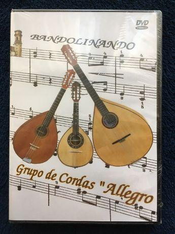 Bandolinando, Grupo de Cordas Allegro, DVD 'selado'