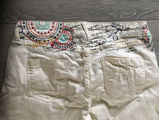 Desigual spodnie 3/4 rozmiar 32