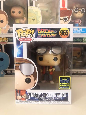 Funko Pop 965 - Marty Checking Watch (Limited Edition EXC)