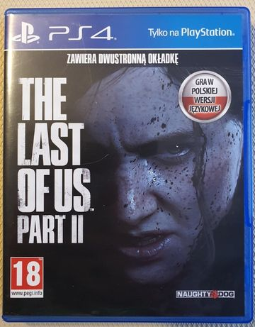 The Last Of Us Part II 2 PL PS4 PL Playstation 4