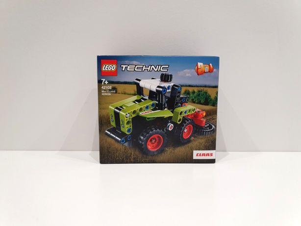 Lego TECHNIC 42102 Mini CLAAS XERION Kombajn