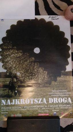 Cichociemny Tarnawski ostatni żyjący podpis plakat