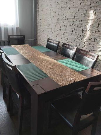 Sprzedam Komplet Stół 240 cm×95cm×78cm + 8 krzeseł