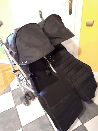 Wózek dla bliźniaków BeCoolTwin Gwarancja spacerowy wózek dla Bliźniąt