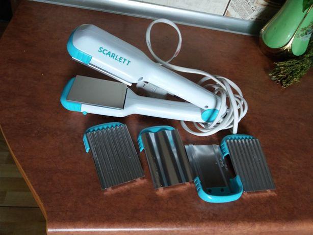 Scarlett sc-061 щипцы для волос утюжок