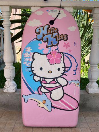 Prancha bodyboard hello kitty