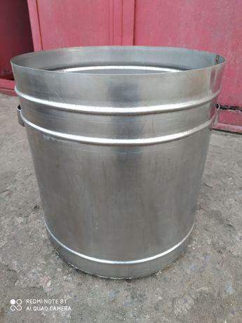 Кастрюля (бочка) из пищевой нержавейки - около 50 л