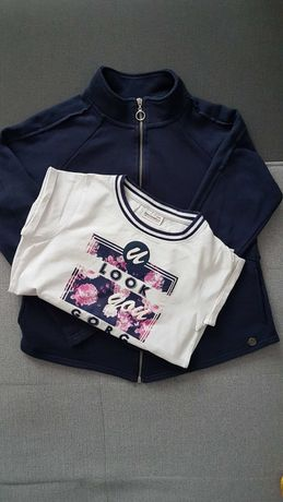COCCODRILLO: bluza + t-shirt 146 cm