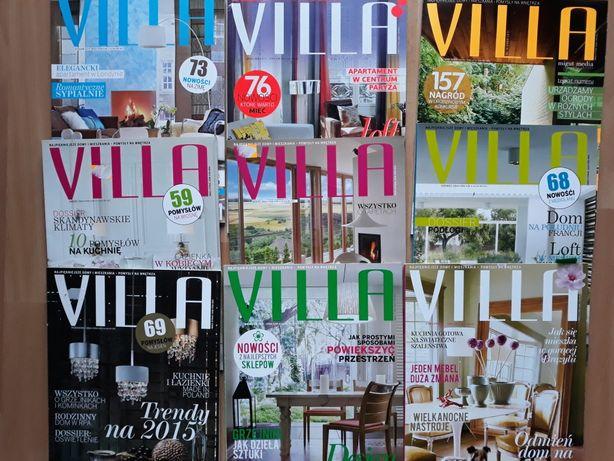 Czasopisma Villa, Weranda, Dobre wnętrze - zestaw 22 szt.