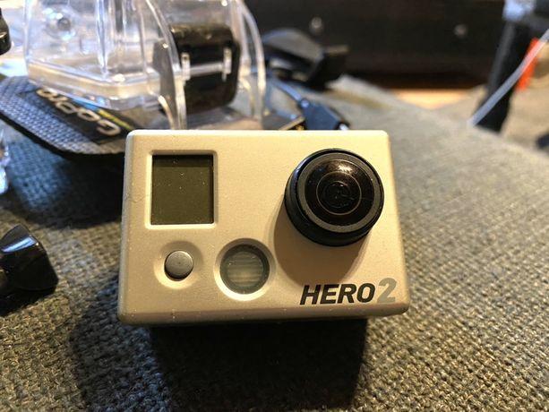 Gopro hero 2 x 2 plus akcesoria