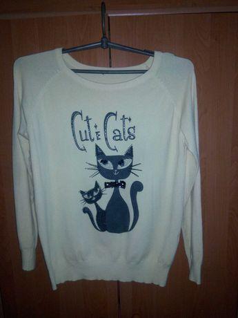 Кофточка с котиками