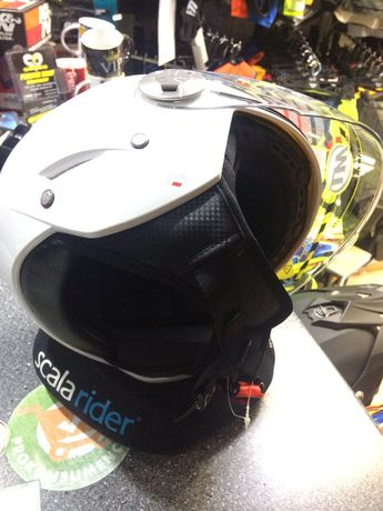 Kask otwarty na skuter,motor z blendą MT Helmet City Eleven XL Grójec