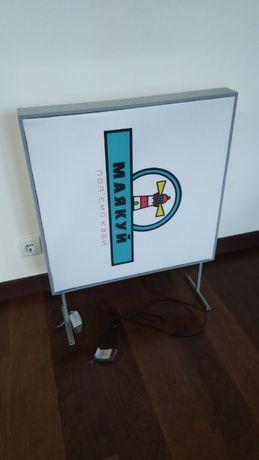 Лайтбокс рекламный 2-стор. 60х60см